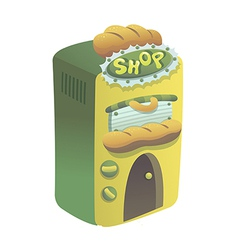 Icon shop vector