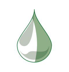 Oil drop fuel vector