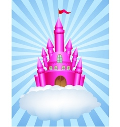 Fairy castle vector image