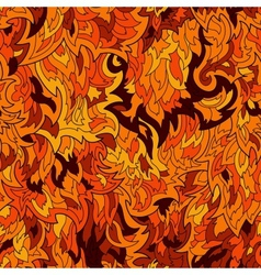 Seamless fur or flame pattern background vector