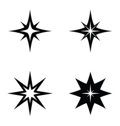 Spark icon set vector