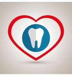 Symbol medicine odontology icon vector