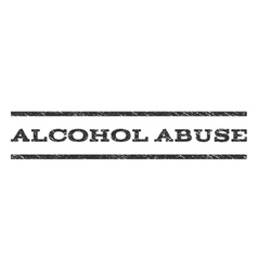 Alcohol abuse watermark stamp vector