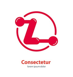 design template Corporate Logo Z Letter company vector image