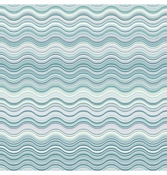 pastel waves seamless pattern vector image
