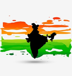 patriotic indian design vector image