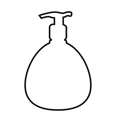 Soap line icon vector