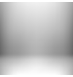 White Studio Background vector image