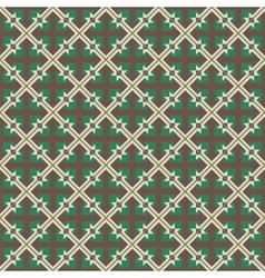 Repeating geometric seamless pattern vector