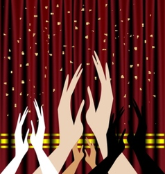 Audience theater vector