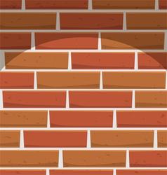 Brick wall pattern vector