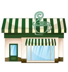 Cafe Coffee House vector image vector image