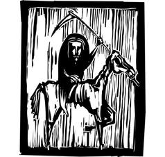 Famine Apocalypse vector image vector image