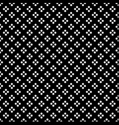 white dot in diamond shape on black background vector image vector image