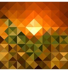 Autumn season triangle seamless pattern background vector
