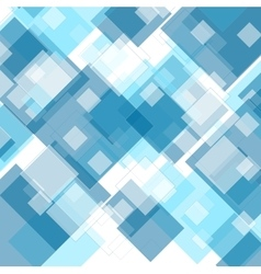 Tech geometric blue background vector
