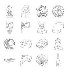 Beauty medicine history and other web icon in vector
