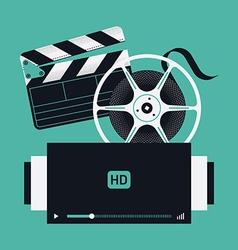 Film movie icons vector