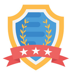 military badge vector image