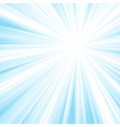 Square blue light burst vector