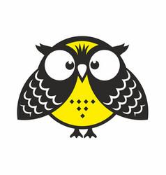 Sweet owl vector