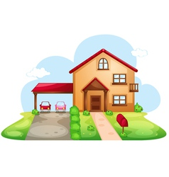 Standard family home vector