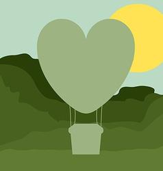 Air balloon desing vector