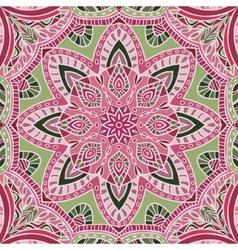 Hand-drawn colored bandana - vector