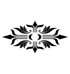 Flora element vector image