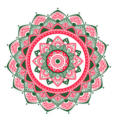 Mandala indian antistress medallion abstract vector