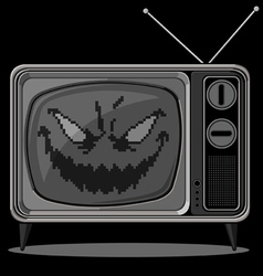Evil Television vector image