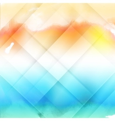 water color cloud vector image