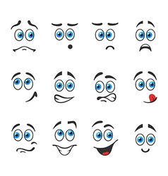 Blue eyed emotion vector