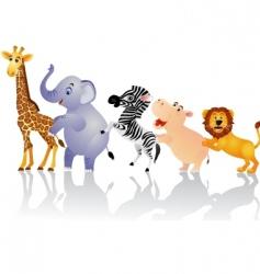 animal circus vector image vector image