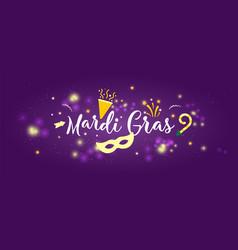 Carnival mardi gras concept banner vector