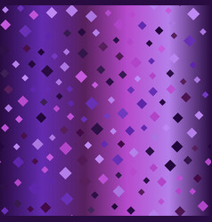 Glowing purple diamond background seamless vector