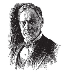 john sherman vintage vector image vector image