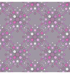 Seamless sphere pattern vector image