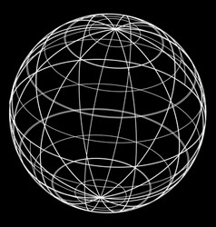 Creative ball vector