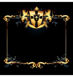 Ornate frame vector