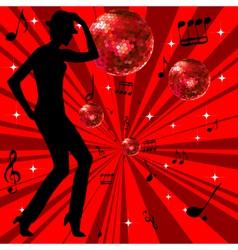 disco advertising vector image