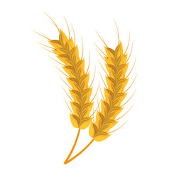bread spikes isolated icon vector image vector image