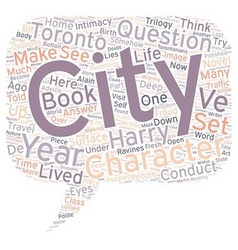 How a city can be a character in your novel text vector