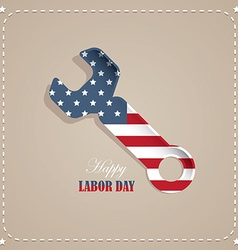 labor day american national holiday vector image