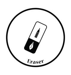 Eraser icon vector