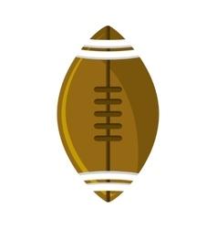 Ball of american football design vector