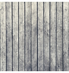 Dark wood board background vector