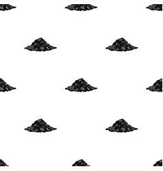dump icon in black style isolated on white vector image vector image
