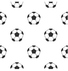 leather soccer ball pattern seamless vector image