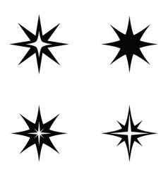 spark icon set vector image
